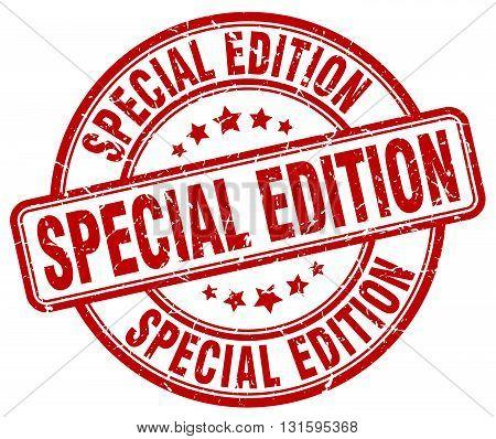 special edition red grunge round vintage rubber stamp.special edition stamp.special edition round stamp.special edition grunge stamp.special edition.special edition vintage stamp.