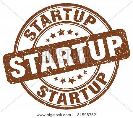 startup brown grunge round vintage rubber stamp.startup stamp.startup round stamp.startup grunge stamp.startup.startup vintage stamp.
