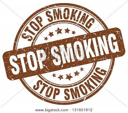 stop smoking brown grunge round vintage rubber stamp.stop smoking stamp.stop smoking round stamp.stop smoking grunge stamp.stop smoking.stop smoking vintage stamp.