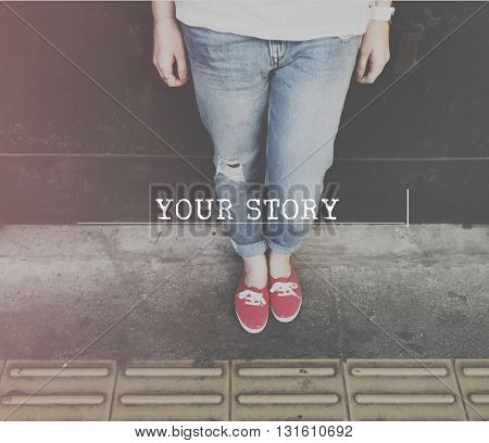 Your Story Life Moments Memory Concept