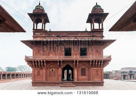 Diwan-i-Khas, Mughal architecture in Fatehpur Sikri, India