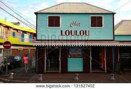 Loulou Bakery In Saint Gilles, La Reunion Island, France