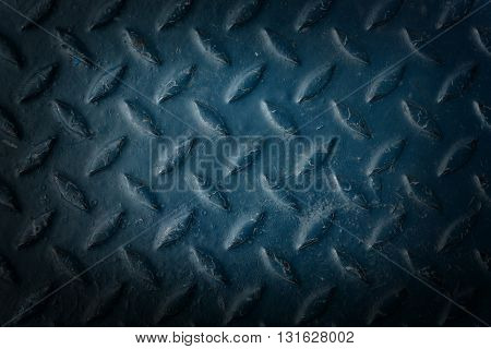 The metal diamond plate texture pattern background
