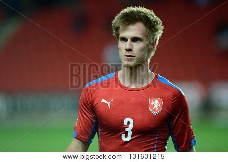 PRAGUE 31/03/2015 _ Tomas Kalas. Friendly match Czech Reublic U21 - Portugal U21