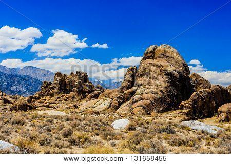 Elephant Rock, Alabama Hills, Sierra Nevada