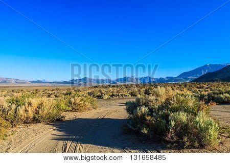 Mono Lake Landscape, California, Usa.