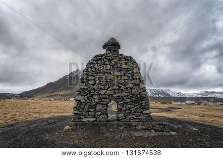 Bárður Snæfellsás Stone Structure, Iceland