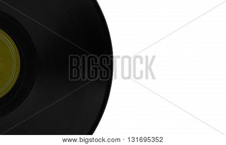 Vintage 78 Rpm Record With Copy Space