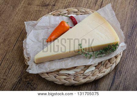 Parmesan Triangle