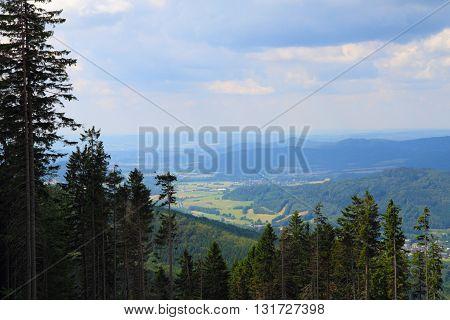 Jeseniky Mountains Nature