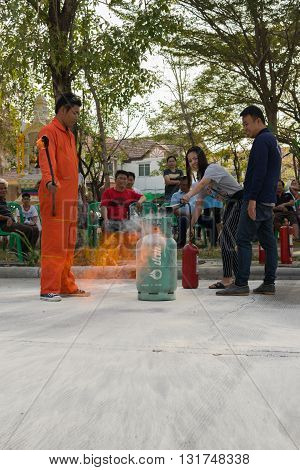 Preparedness For Fire Drill