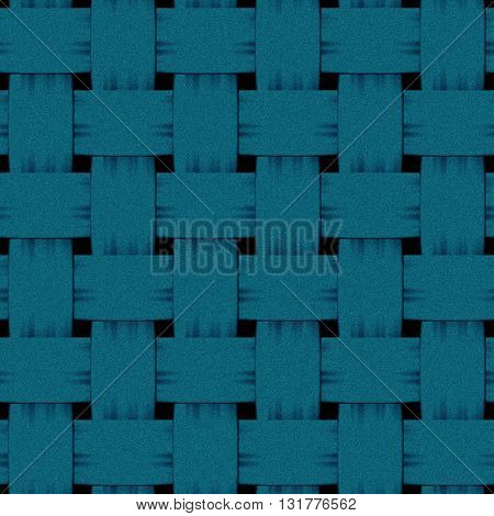 square blue interlaced woven denim seamless procedural texture