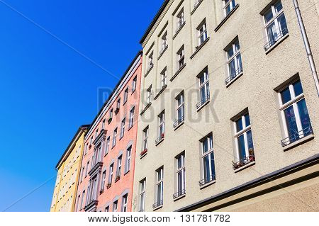 apartment buildings in Prenzlauer Berg Berlin Germany