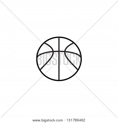 Image of basketball icon. Basketball icon vector. Basketball icon art. Basketball icon logo. Outline of basketball icon. basketball Icon design.
