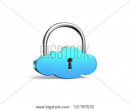 Cloud Shape Locker