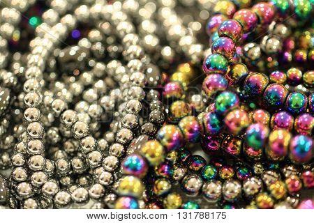Color Rainbow Hematite Mineral Texture