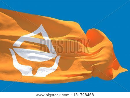Antarctica wave flag HD Earth southernmost continent