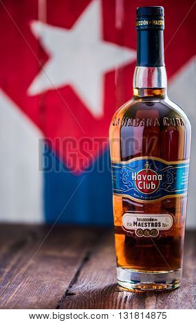 Bottle Of Havana Club Rum.