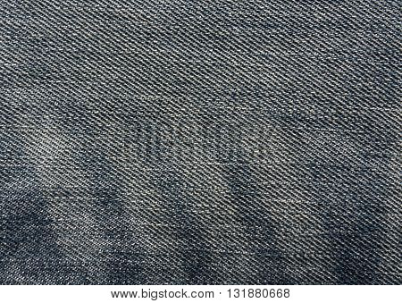 Blue Jeans Cloth Texture.
