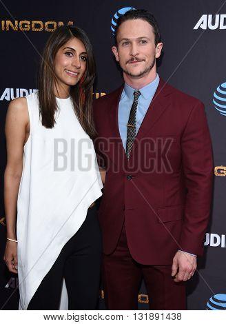 LOS ANGELES - MAY 25:  Jonathan Tucker & Tara Tucker arrives to the