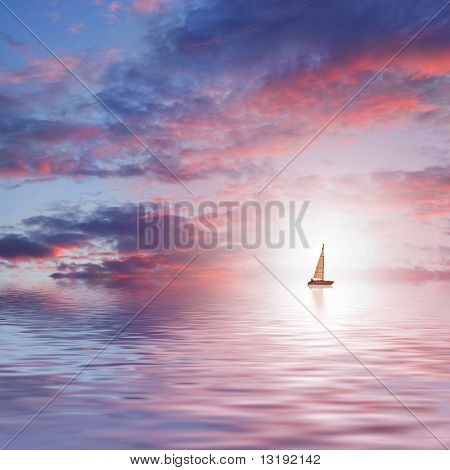 Beautiful sea scenic