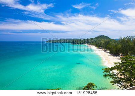 Paradise Beach at Surin Islands phuket Thailand.