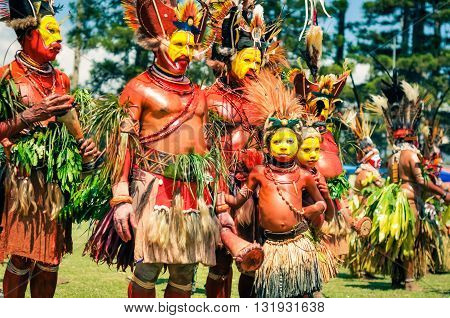 Costumes In Papua New Guinea