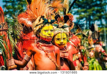 Young Performers In Papua New Guinea