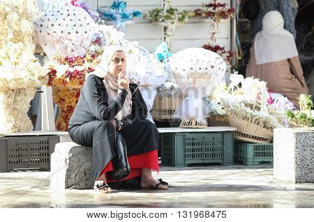 Muslim Women In City