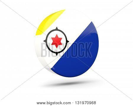 Round Icon With Flag Of Bonaire