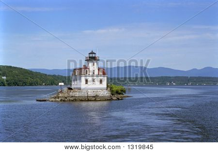 Lighthouse On The Hudson
