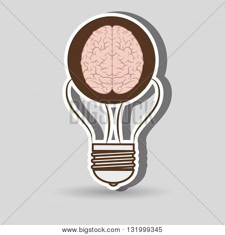 brain storming design, vector illustration eps10 graphic