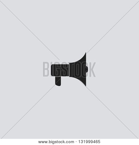 Speaker icon vector.  Speaker sign.  Speaker icon web - stock vector.