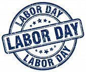 labor day blue grunge round vintage rubber stamp.labor day stamp.labor day round stamp.labor day grunge stamp.labor day.labor day vintage stamp. poster
