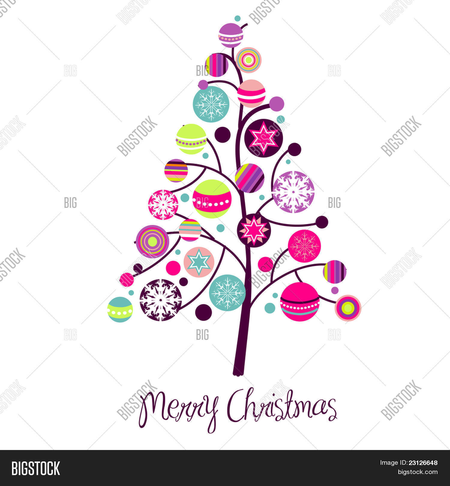 Abstract Christmas Vector & Photo (Free Trial) | Bigstock