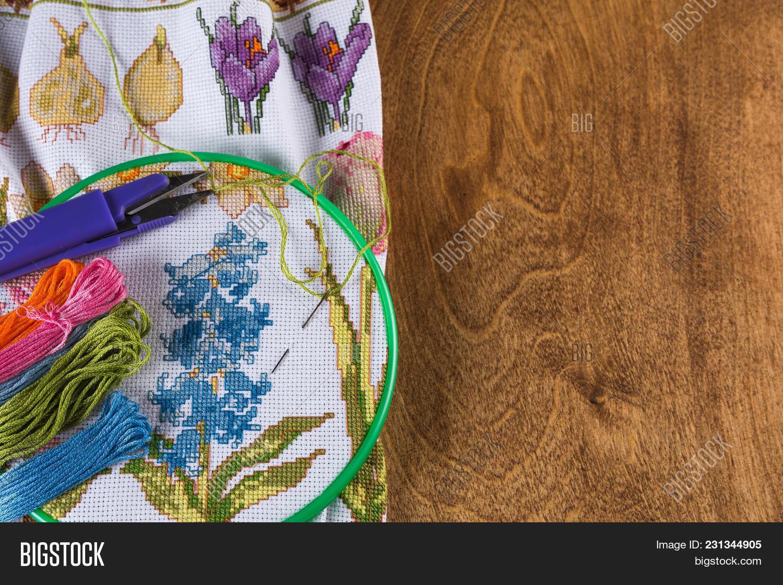 Process Cross-stitch  Image & Photo (Free Trial) | Bigstock
