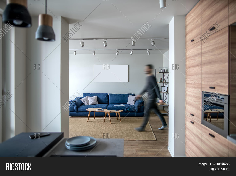Modern Interieur Wit : Modern interior white image photo free trial bigstock
