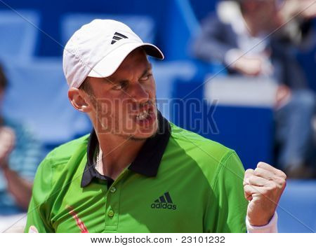 Nice, France - May 15: Andreas Haider-maurer (aut) At The Nice Cote D'azur Open On May 15, 2011