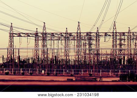 Power Station, Power Poles, Energy Ideas, And Energy Savings.