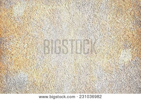 Texture Of Mixed White Cement With Heavy Dirty Stain