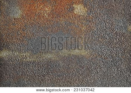 Steel Sheet With Stain Oxidation On Texture Surface
