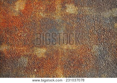 Steel Sheet With Heavy Stain Oxidation On Texture Surface