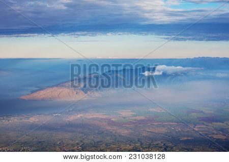 Picturesque view of Hawaii island