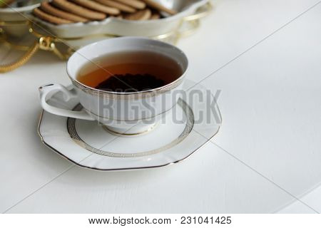 Classic cup of English tea