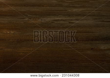 Perspective Background From Dark Wooden Boards