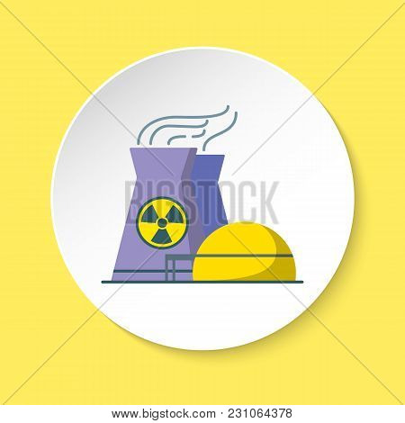 Nuclear Power Plant Vector & Photo (Free Trial) | Bigstock
