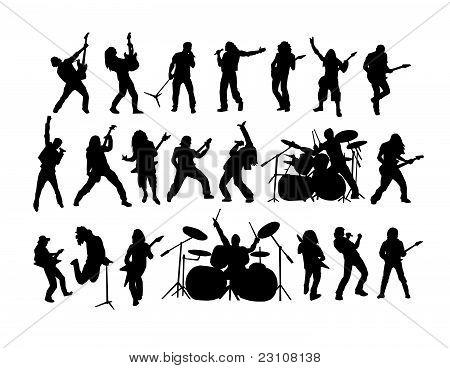 Rock und Metal Vektor-Sammlung