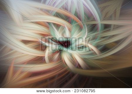 Twisted Wind Abstract Design For Background Texture