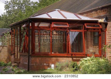 conservatory built