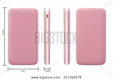 Attractive Pink Soft And Simple Mobile Phone Back Cover And Case With Side Views That Will Protect Y